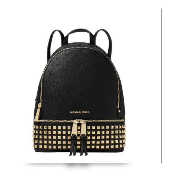 b60a3b93c833 👀👀👀MK Studded Backpack Sale. M_5b5f8e8f34a4efdc16e96d28